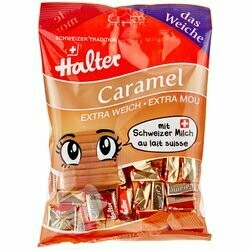 Halter Caramels extra mous 200g