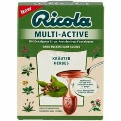 Ricola Pastilles Multi-Active aux fines herbes 57g