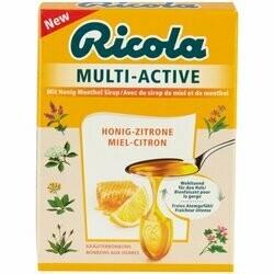 Ricola Pastilles Multi-Active au miel & citron 57g