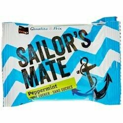 Sailor's Mate Bonbons à la menthe poivrée 75g