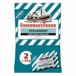 Fisherman's Friend Pastilles à la menthe proivrée sans sucre 2x25g 50g
