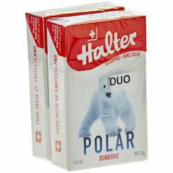 Halter Pastilles Polar sans sucre 2 paquets 80g