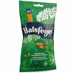 Halsfeger Bonbons clairs pour la gorge 90g