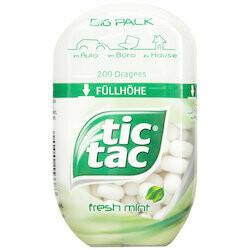 Tic Tac Bonbons Fresh Mint 98g