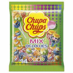Chupa Chups Mix of Lollies 154g