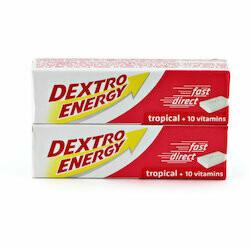 Dextro Energy tropical 2 boîtes 94g
