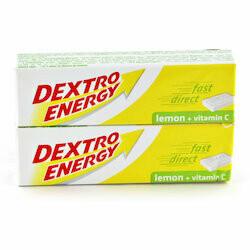 Dextro Energy au citron 2 boîtes 94g