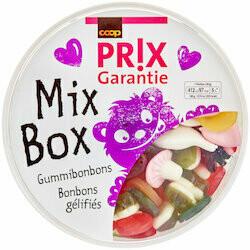 Prix Garantie Gummies Mix Box 800g