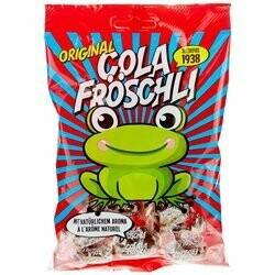 Bonbons grenouilles au cola 140g