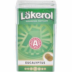 Läkerol Pastilles à l'eucalyptus 2x27g 54g