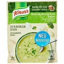 Knorr Soupe au brocoli & chou-fleur 52g