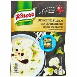 Knorr Soupe Suprême au brocoli & chou-fleur 72g