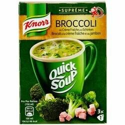 Knorr Préparation pour potage Suprême au brocoli & jambon 3 portions 45g