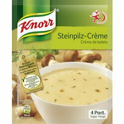 Knorr Préparation pour potage de crème de bolets 66g