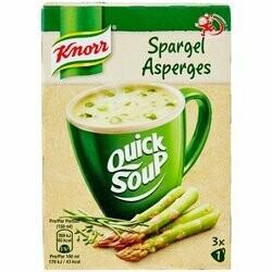 Knorr Quicj Soup Soupe aux asperges 42g