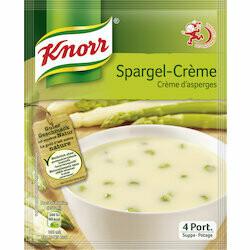 Knorr Préparation pour potage à la crème d'asperges 65g