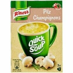 Knorr Potage aux champignons Quick Soup 48g