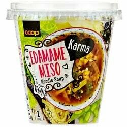 Karma Soupe aux nouilles avec edamame & miso 38g
