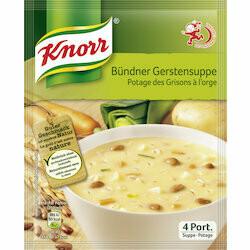Knorr Préparation pour potage des Grisons à l'orge 108g