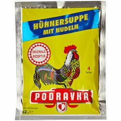 Podravka Préparation pour soupe de poule aux vermicelles 62g