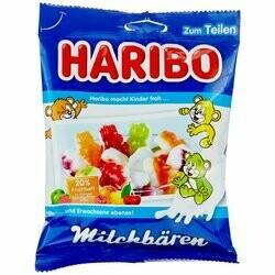 Haribo Gummies ours au lait 175g