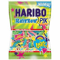 Haribo bonbons arc-en-ciel P!K 200g
