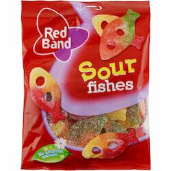 Red Band Gummies poissons acidulés 300g