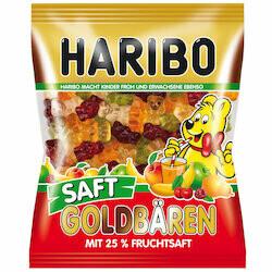 Haribo Gummies en oursons juteux 175g