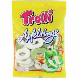 Trolli Gummies en anneaux aux pommes 200g