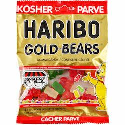 Haribo Gummies en oursons Gold kasher 150g