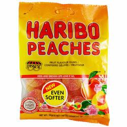 Haribo Gummies au pêche kasher 150g