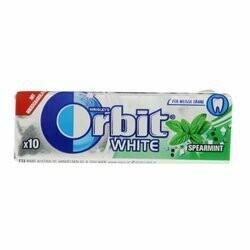 Orbit Chewing-gum à la menthe blanche 14g