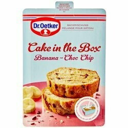 Dr. Oetker Préparation cake à la banana & chocolat Cake in the Box 175g