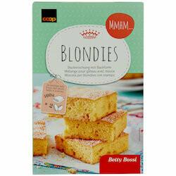 Betty Bossi Préparation pour Blondies 490g