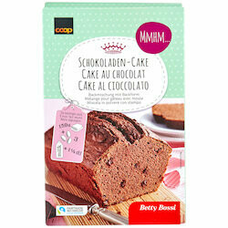 Betty Bossi Fairtrade Mélange pour cake au chocolat 500g