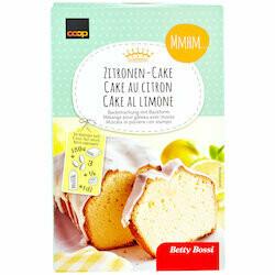 Betty Bossi Mélange pour cake au citron 550g