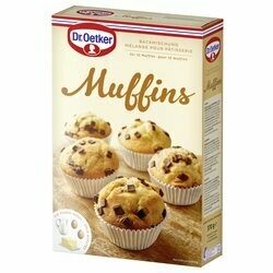 Dr. Oetker Préparation pour muffins aux pépites de chocolat 370g