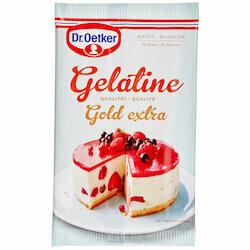 Dr. Oetker Gélatine blanche 12 pièces 20g