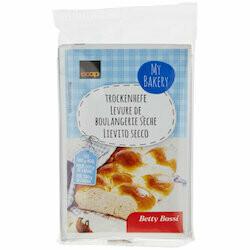 Betty Bossi levure de boulangerie sèche 25g