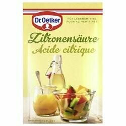 Dr. Oetker Acide citrique 5x5g
