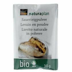 Naturaplan Bio Levain en poudre 4x10g