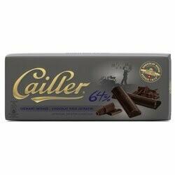 Cailler Crémant Chocolat noir 64% 100g