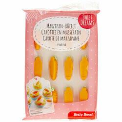 Betty Bossi Mini carottes en massepain 24g