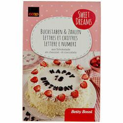 Betty Bossi Lettres & nombres en chocolat 84pce