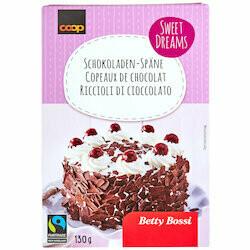 Betty Bossi Fairtrade Copeaux de chocolat 130g