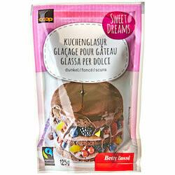 Betty Bossi Fairtrade Glaçage foncé 125g