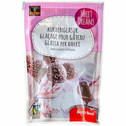 Betty Bossi Fairtrade Glaçage clair 125g