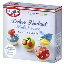 Dr. Oetker Pâte à sucre colorée 500g