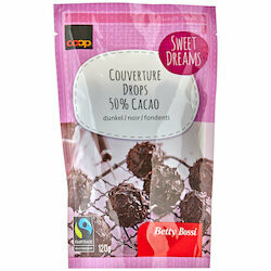 Betty Bossi Fairtrade Boules de chocolat noir 50% 120g