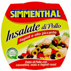 Simmenthal Salade de poulet épicé 160g